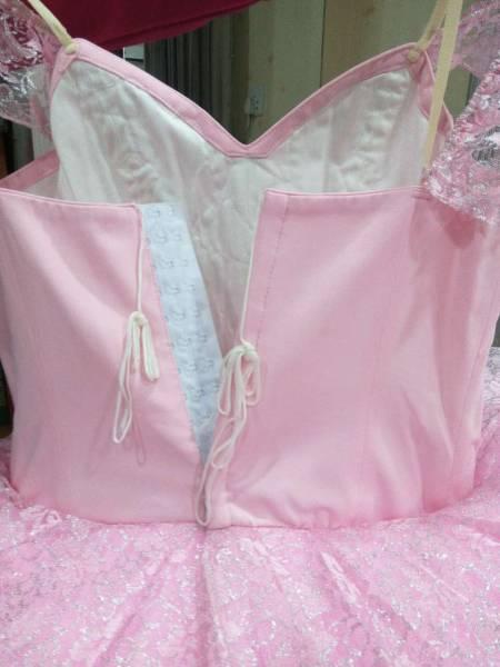 送料無料♪大人Lバレエ舞台衣装♪ピンクお姫様系♪8層チュチュ♪_画像3