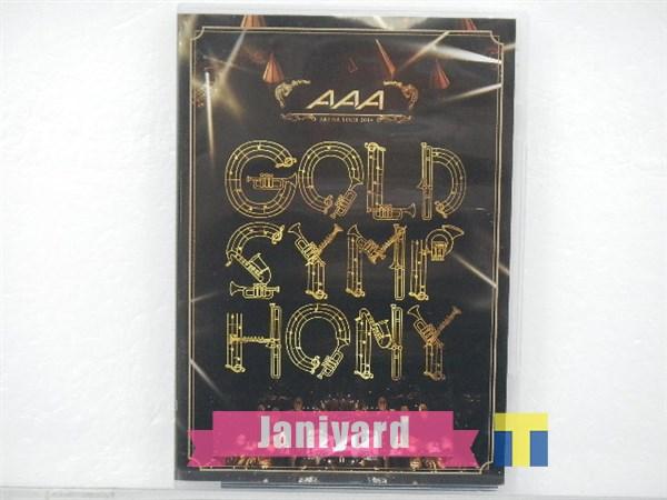 AAA DVD ARENA TOUR 2014 GOLD SYMPHONY 初回生産限定盤 1円