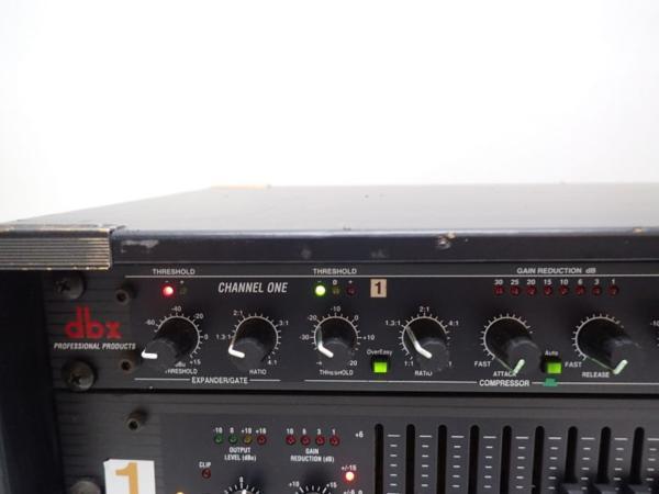 dbx コンプレッサー 266XL+イコライザー 2231 セット ♪ 4E1AE-5_画像4