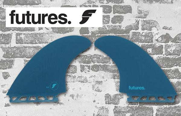 新品【FUTURES FIN】FIBER GLASS FEN TWIN KEEL EN/フューチャー/ツインキールフィン /レトロからショート系のボードまで、幅広くフィット!_画像1
