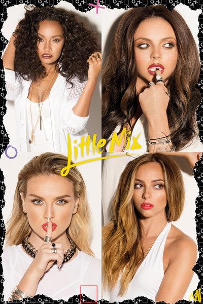 LP-1984 Little Mix リトル・ミックス ポスター〔新品・即決〕