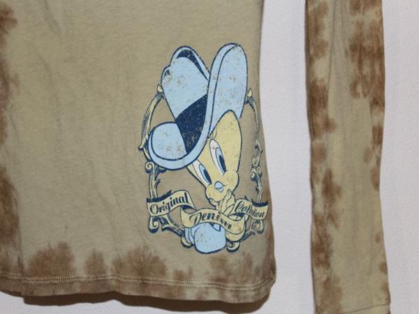 ビジュエルド Bejeweled レディース長袖Tシャツ トゥイーティー Tweety XSサイズ 新品_画像4