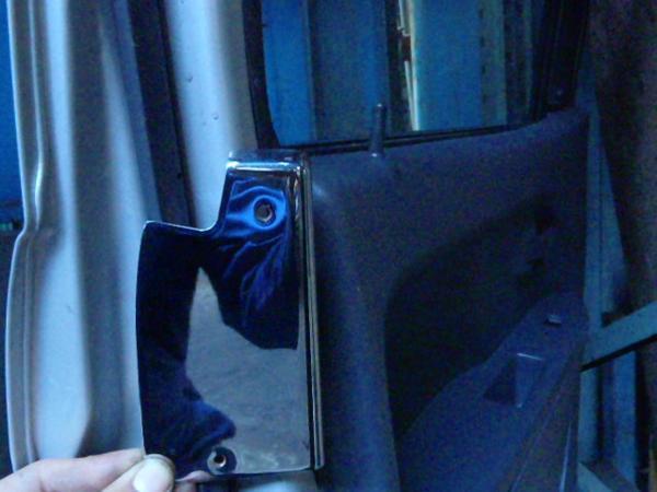 『psi』 メルセデス・ベンツ W208 CLK320 ドア用メッキパネル_画像3