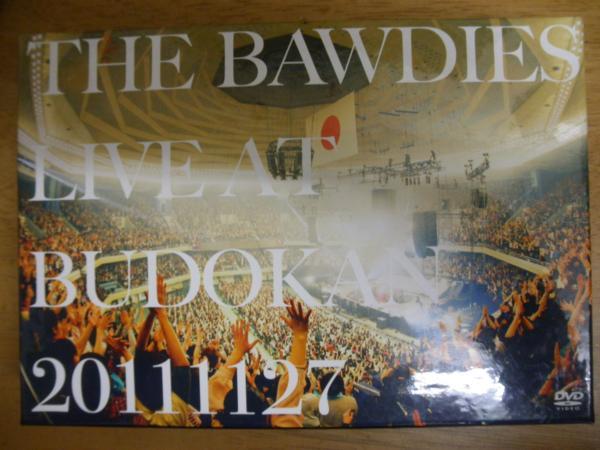 DVD/THE BAWDIES LIVE AT BUDOKAN 20111127 ライブグッズの画像