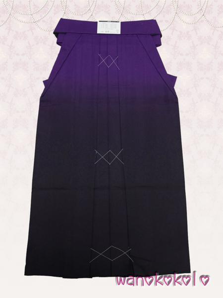 【和のこころキッズ】卒業式に◇ぼかし刺繍袴◇E紫系◇87cm_画像3