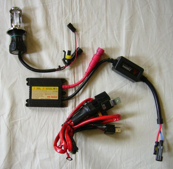 HIDキット2 12V 35W 5000K H4 Hi/Lo スライド式-1RB-新品-_画像1