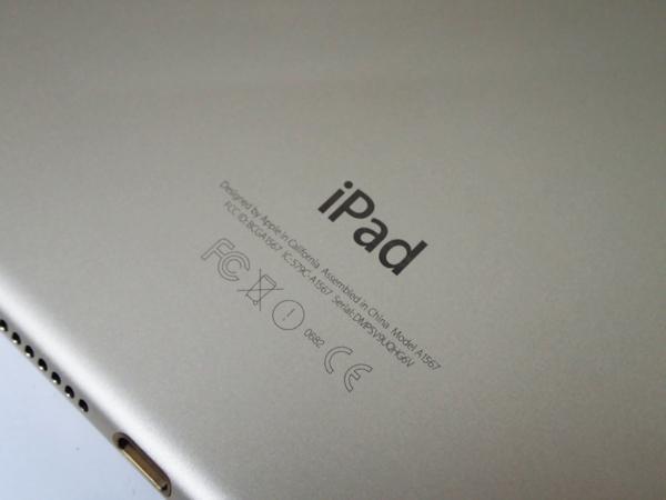 1円 【Apple】 白ロム アップル docomo iPad Air 2 Wi-Fiモデル 32GB ゴールド A1567 [MNVR2J/A] ○ 超美品 質屋出品 質シミズ_画像6