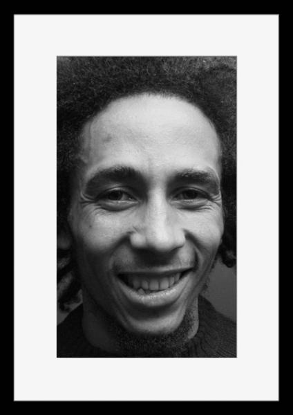 BW:人気ジャマイカ・レゲエバンド!Reggae/ボブ・マーリー&ザ・ウェイラーズ/Bob Marley & The Wailers/モノクロ写真フレーム-4