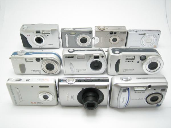 ★ハロ-カメラ★5094 Canon IXY DIGITAL 910 IS【800万画素】 含むデジタルカメラ・ジャンク品・10台【同梱不可】