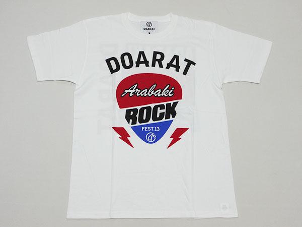 新品◆DOARATドゥアラットArabaki Rock FesアラバキロックフェスTシャツ正規品/荒吐 岩盤
