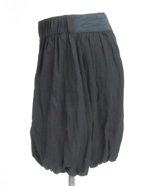 シーバイクロエ SEE BY CHLOE 黒バルーンスカート I38_画像2