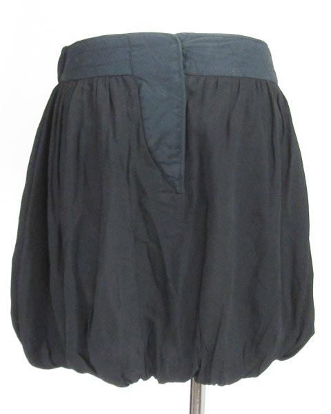 シーバイクロエ SEE BY CHLOE 黒バルーンスカート I38_画像3