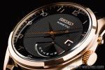 1円 逆輸入 セイコー 海外モデル 世界特許 キネティック レトログラード 裏スケ 腕時計