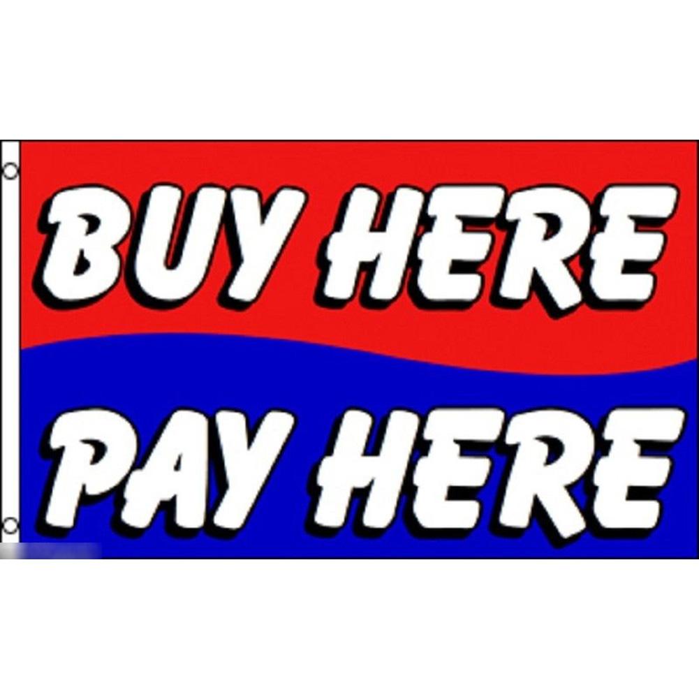 海外限定 国旗 販売所 支払い所 レジ のぼり旗 特大フラッグ_画像1