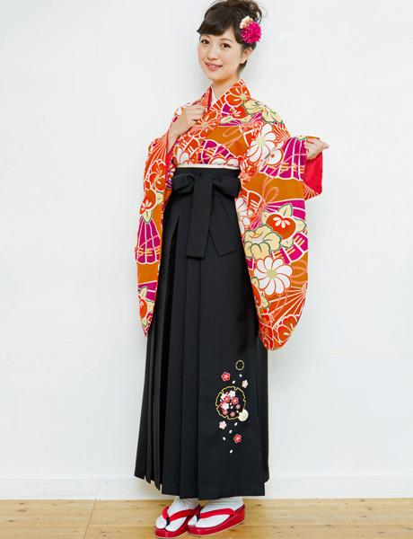 二尺袖着物袴フルセット 夢千代 2018年最新モデル 着物丈は着付けし易いショート丈 新品 (株)安田屋_画像2