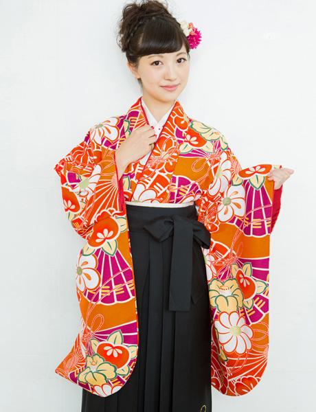 二尺袖着物袴フルセット 夢千代 2018年最新モデル 着物丈は着付けし易いショート丈 新品 (株)安田屋_画像3