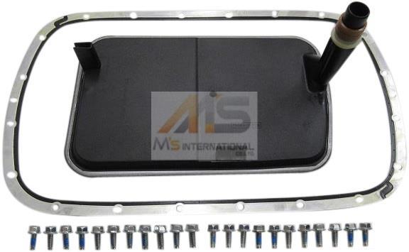 【M's】BMW X3 E83/Z3 E36/E46 3シリーズ ATフィルター+オイルパンガスケット セット//純正OEM 2411-7557-070 2411-7510-012_画像1