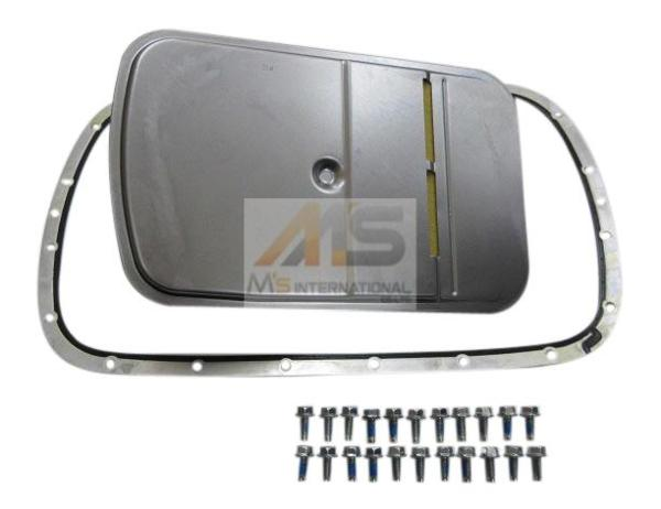 【M's】BMW X3 E83/Z3 E36/E46 3シリーズ ATフィルター+オイルパンガスケット セット//純正OEM 2411-7557-070 2411-7510-012_画像2