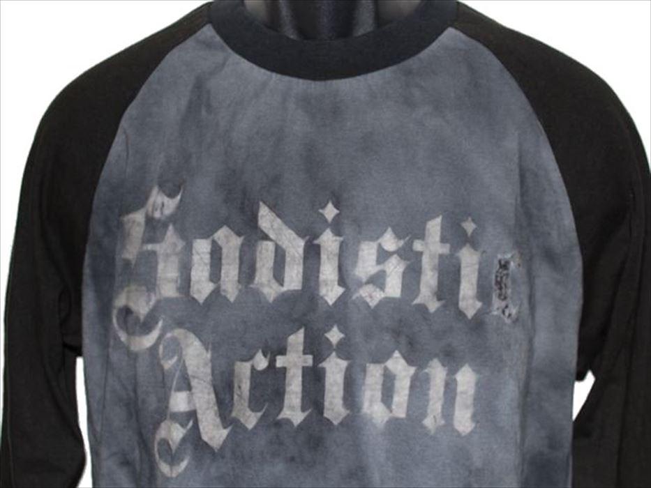 サディスティックアクション Sadistic Action メンズ長袖Tシャツ Mサイズ NO10 新品_画像3