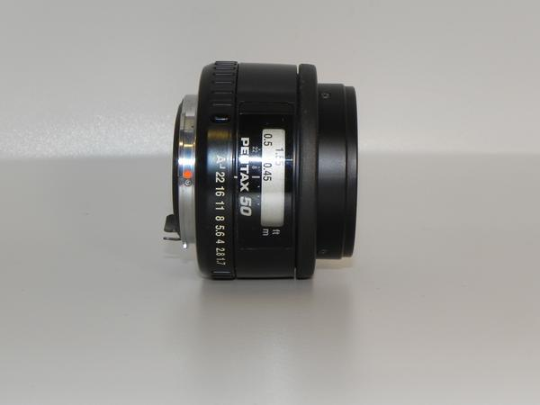 **中古良品 PENTAX-FA 50mm/F 1.4 レンズ*_画像1