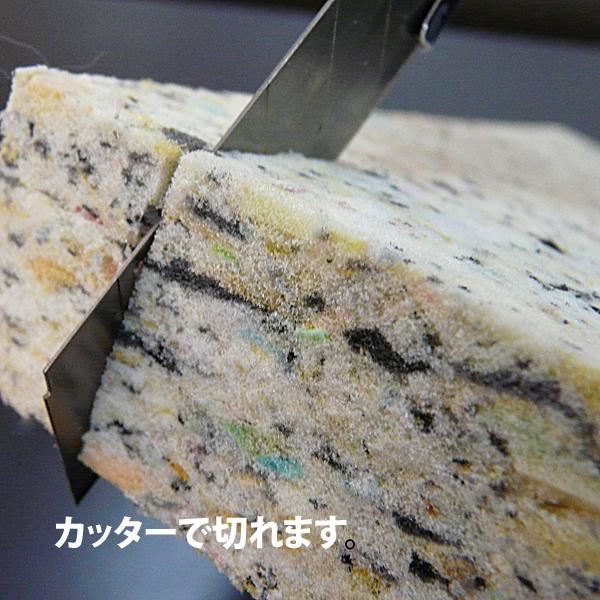 【チップウレタンスポンジ】シート補修 アンコ抜き ヘタリ自作_画像3
