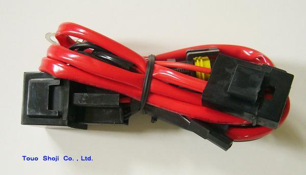 HIDバルブ 12V 55W 6000K H4 Hi/Lo スライド式1+リレー_画像2