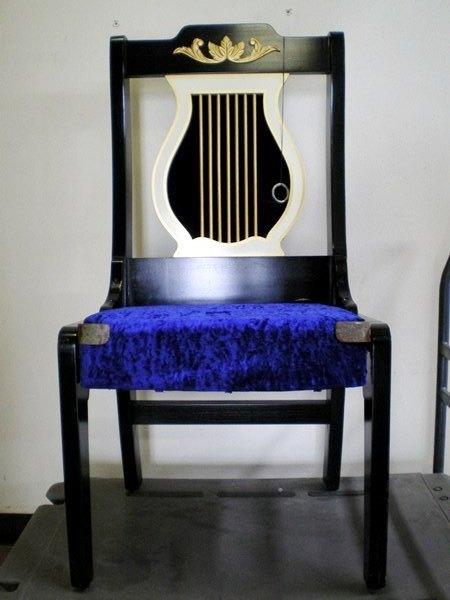 激レア 1995 米米CLUB 「OPERA BLUE」使用 マジック用椅子 OWEN