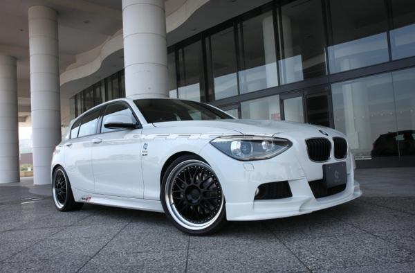 3D/デザイン/DESIGN/BMW/1シリーズ/F20/Mスポーツ用/フロント/リップ/スポイラー/116i/118i/120i/M135i_画像2