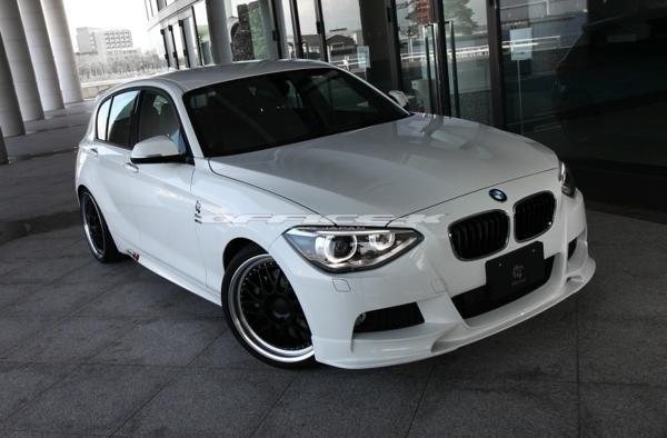 3D/デザイン/DESIGN/BMW/1シリーズ/F20/Mスポーツ用/フロント/リップ/スポイラー/116i/118i/120i/M135i_画像3