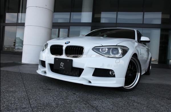 3D/デザイン/DESIGN/BMW/1シリーズ/F20/Mスポーツ用/フロント/リップ/スポイラー/116i/118i/120i/M135i_画像4