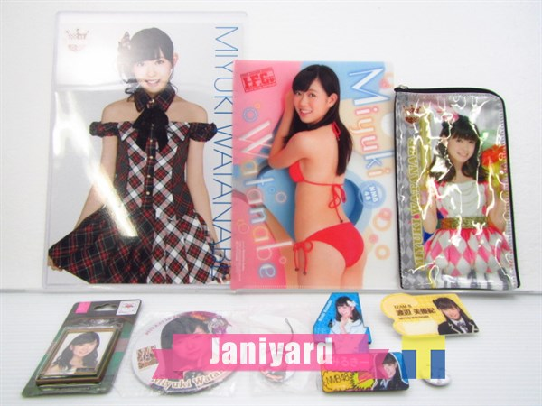 AKB48 NMB48 渡辺美優紀 グッズセット 1円