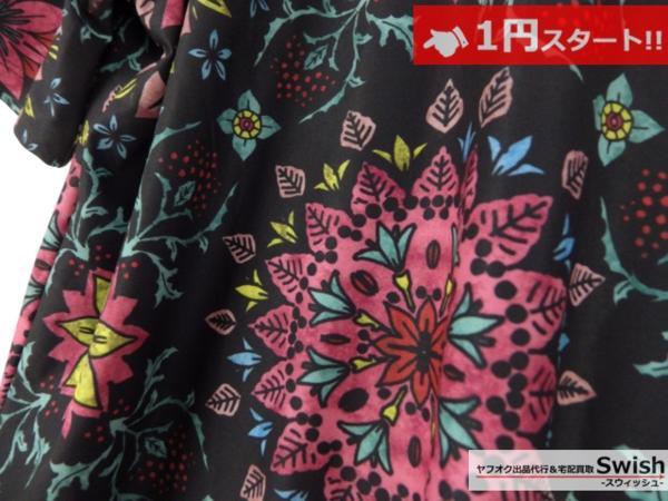 A895●Nike Lab ナイキ x R.T. Riccardo Tisci リカルドティッシ●新品 Printed Kaleidoscop T-Shirt 万華鏡 Tシャツ M 黒●_画像3