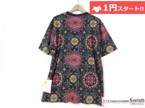 A895●Nike Lab ナイキ x R.T. Riccardo Tisci リカルドティッシ●新品 Printed Kaleidoscop T-Shirt 万華鏡 Tシャツ M 黒●_画像5