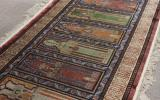 慶應◆悠久の織物芸術 最高級ペルシャ絨毯 シルク手織宮殿模様 B13