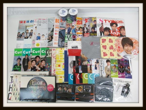 OFFICE CUE Team nacs グッズセット/掲載雑誌/会報/DVD【20