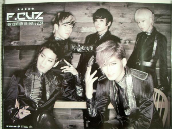 F.cuz 3rd Mini Album - For Century Ultimate Zest ポスター A