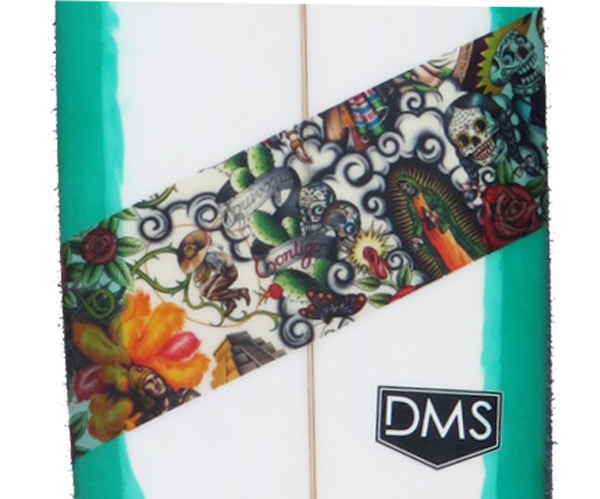 新品DMSサーフボード/Baconモデル/9'6トラディショナルスタイル/気品あるうつくしいシェイプは、その一本一本がアート!!_画像2