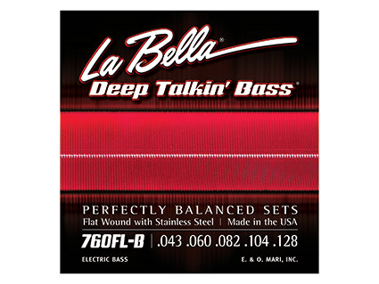 「Ks 5弦フラットワウンドエレキベース弦 La Bella 760FL-B (エレキベース 弦)」の画像