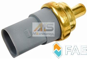 【M's】アウディ A2(8Z)A3(8L/8P)A4(8E/8H)A5(8T)A6(4B/4F)A7(4G)A8(4E)Q7(4L)R8(4S/42C)TT(8J) 水温センサー/テンプセンサー 06A919501A_画像1