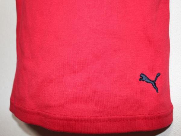 プーマ PUMA レディース半袖Tシャツ レッド Mサイズ 新品_画像5