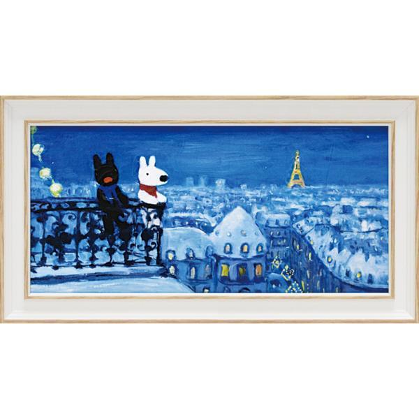 リサとガスパール「パリの天窓から(ワイドSサイズ)」_画像1