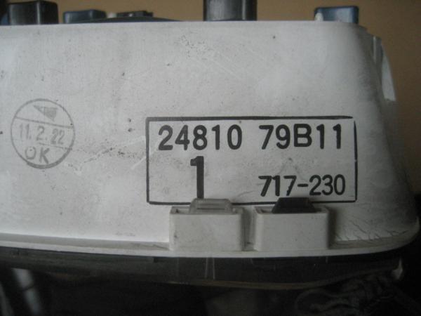 【26786】 K11 マーチ スピードメーター 66328km ⑩ 13127_画像3
