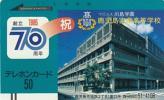 ●フリー110-1667 鹿児島実業高等学校テレカ