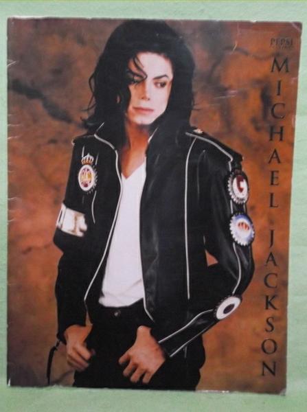 D-1【パンフ】マイケル・ジャクソン