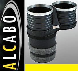 【M's】W222 W217 R217 ベンツ AMG Sクラス(13y-)ALCABO 高級 ドリンクホルダー(BK+リング)/アルカボ カップホルダー AL-M315BS ALM315BS_画像1
