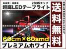 極細900ルーメン2835チップLEDテープライト60cm白