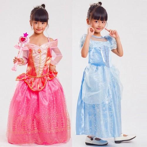子供 アリス シンデレラ 姫様王 ピンク 130-140【 同梱可能   即納】 ディズニーグッズの画像