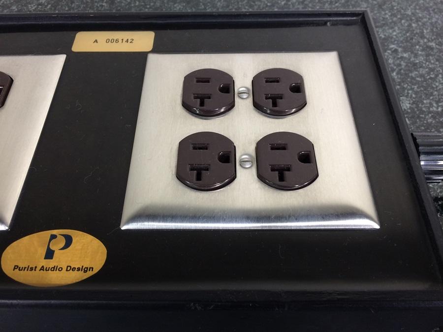 良品 Purist Audio Design 電源タップ The Extension Box 希少 Audio Station_画像4