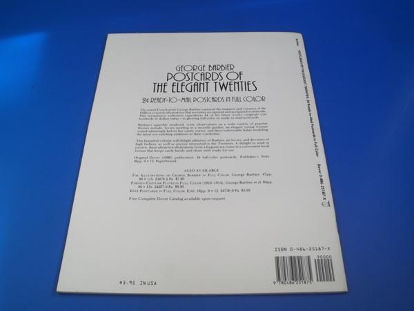 ★1986年 POSTCARDS OF THE ELEGANT TWENTIES ポストカード_画像2