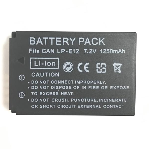 Canon キヤノン LP-E12 互換バッテリー★EOS 100D / EOS Rebel SL1